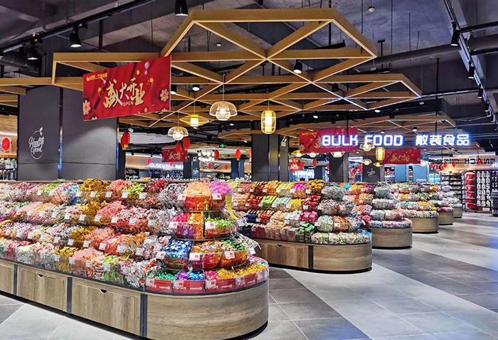 生活超市货架案例