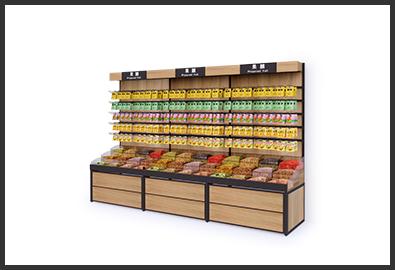 超市货架-果脯柜