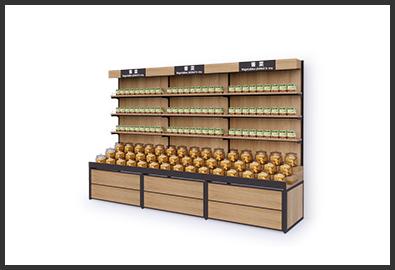 超市货架-酱菜柜