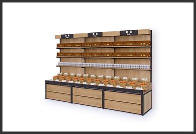 超市货架-禽蛋柜