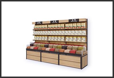 超市货架-杂粮柜