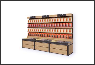 超市货架-特产柜