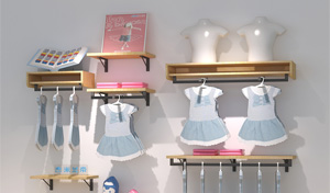 中山吉秀尔告诉您:什么样的服装展示柜最给力!