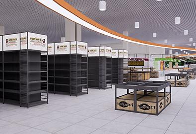 超市货架案例