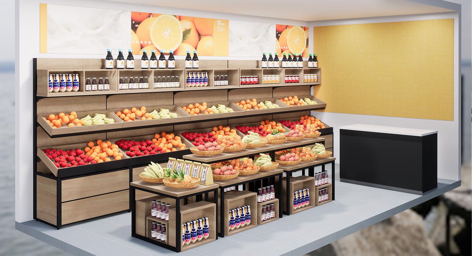 想经营一家水果店,请从货架选择开始