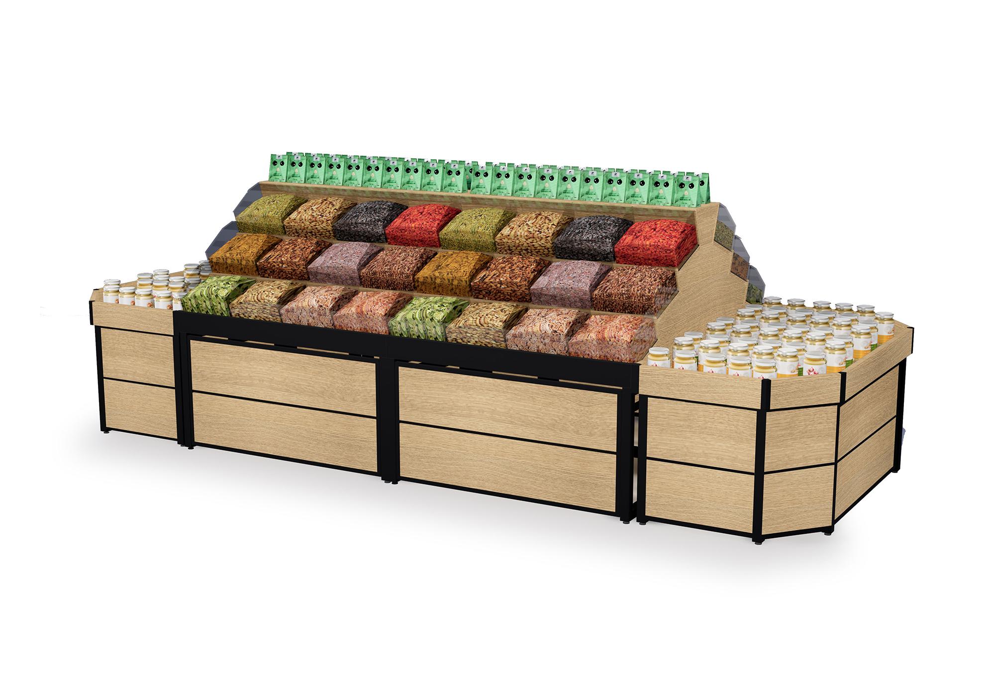 超市中岛散货堆头系列
